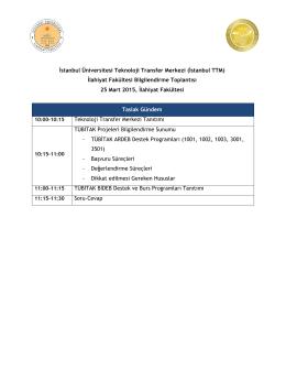 Program - İlahiyat Fakültesi