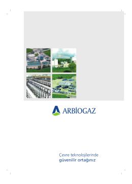 Arbiogaz Genel Katalog