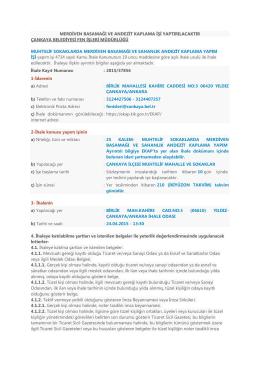 Çankaya Belediye Başkanlığı Fen İşleri Müdürlüğü Merdiven