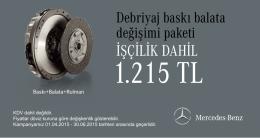 Debriyaj Seti Değişimi (377 KB, PDF) - Mercedes-Benz