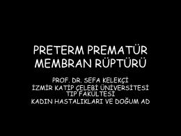 Prof. Dr. Sefa Kelekçi