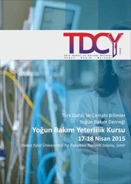TDCYB BRC 2015 20150107.cdr - Türk Dahili ve Cerrahi Yoğun