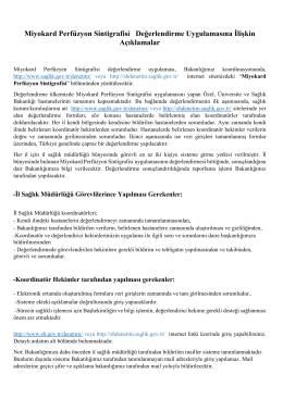 MPS Koordinatör Hekim için açıklama