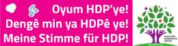 Meine Stimme für HDP!