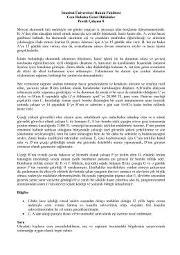 İstanbul Üniversitesi Hukuk Fakültesi Ceza Hukuku Genel Hükümler