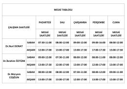 MESAİ TABLOSU WEB 10042015