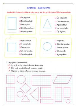 geometrik şekiller - Kartanelerim.com