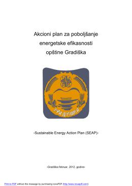 SEAP - Opština Gradiška