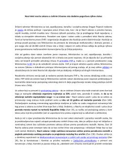 Zajedničko saopštenje Fonda za humanitarno pravo, Koalicije protiv