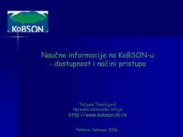 PDF na srpskom, 7851 KB - Kobson