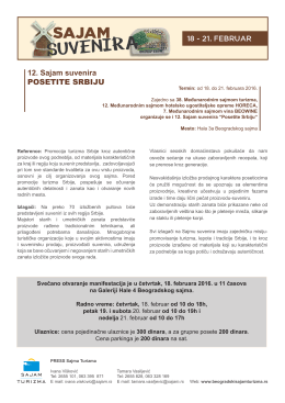 Press info Suveniri