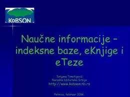 PDF na srpskom, 5422 KB - Kobson