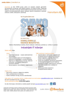 Industrijski IT inženjer