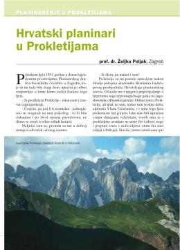 Hrvatski planinar