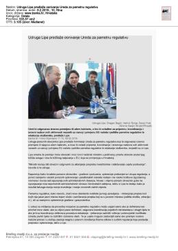 Naslov: Udruga Lipa predlaže osnivanje Ureda za pametnu