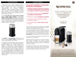 Nespresso kupon letöltése