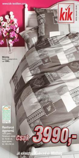 Kik textil akciós újság letöltése PDF formátumban ITT