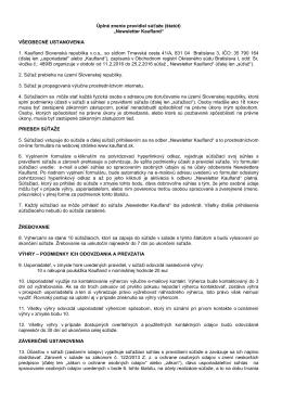 Newsletter_Uplne znenie pravidiel sutaze_final