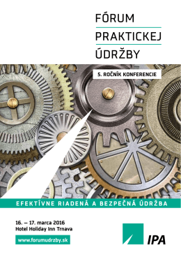 Stiahnuť program - Fórum praktickej údržby