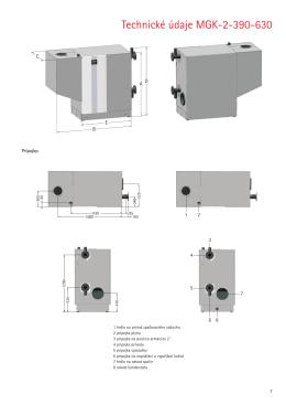 Technické údaje MGK-2-390-630