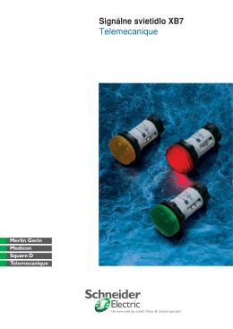 Signálne svietidlo XB7 Telemecanique