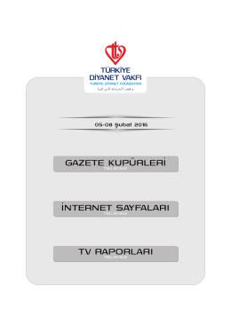 Basında TDV web giriş sayfası.cdr