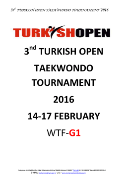 3 turkish open taekwondo tournament 2016 14 - Ma