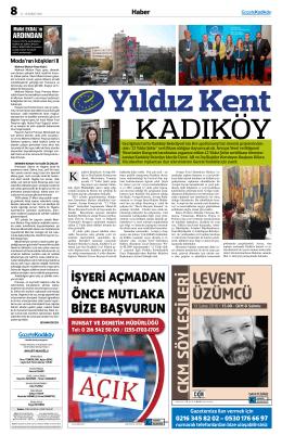 Haber - Gazete Kadıköy