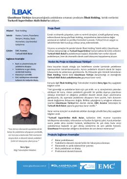 İlbak Holding - GlassHouse Türkiye