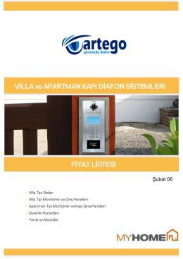 Fiyat Listesi - Artego Elektronik