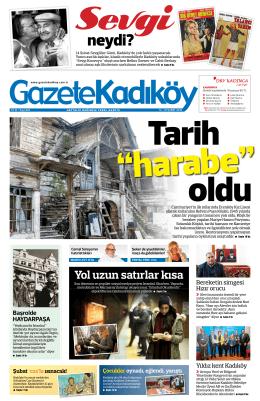neydi? - Gazete Kadıköy
