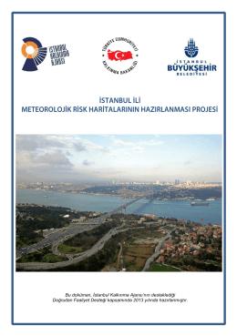 Bu doküman, İstanbul Kalkınma Ajansı`nın desteklediği