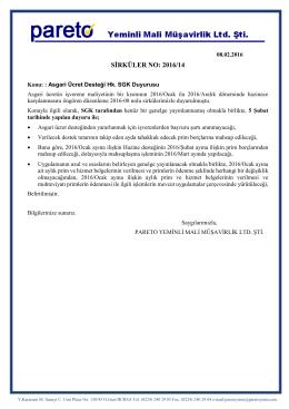 sırk-16-14 asgari ücret desteği hk sgk duyurusu