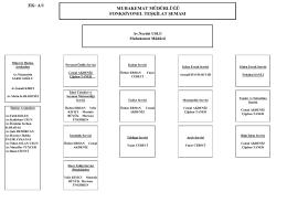 Muhakemat Müdürlüğü Fonksiyonel Teşkilat Şeması