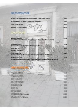 KOMPLE SÖGÜġ (Domates,Salatalık,Biber,Ezine Beyaz Peynir) 8
