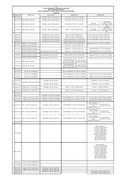 II.SINIF (D302) P 08.15-09.00 Ölç. Bilgisi