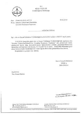 kilis valiliği - Kilis Milli Eğitim Müdürlüğü