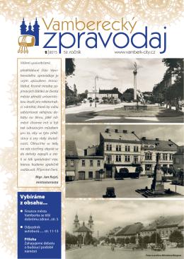 VZ_unor2015 - Město Vamberk