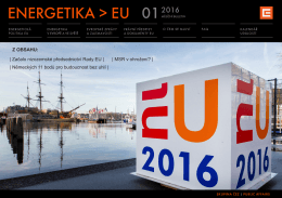 Bulletin Energetika v EU