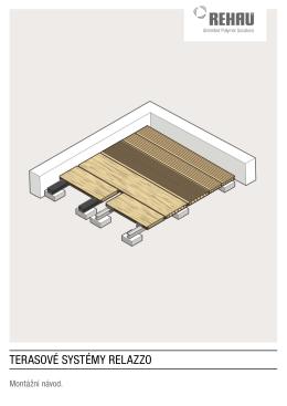 terasové systémy relazzo