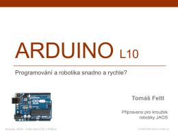 Robotika - JAOS-Arduino L10