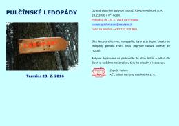 pulčínské ledopády - Camping club Rožnov