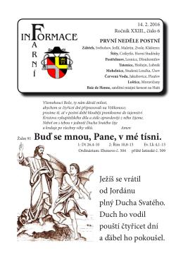 Farní informace - Římskokatolická farnost Zábřeh a děkanát Zábřeh