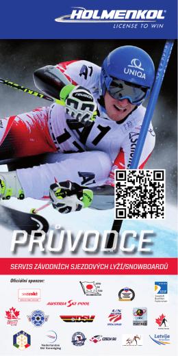 Holmenkol průvodce - servis sjezdových lyží/snowboardů