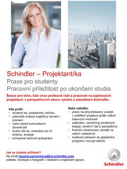 Schindler – Projektant/ka