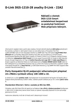 PDF podoba - D-Link brand