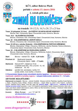 Zimní Bludníček - Muzeum jižního Plzeňska v Blovicích