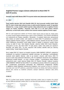 Tlačová zpráva ve formátu PDF ke stažení zde.
