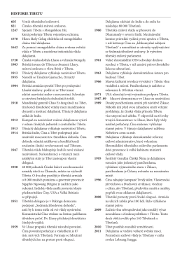 historie tibetu