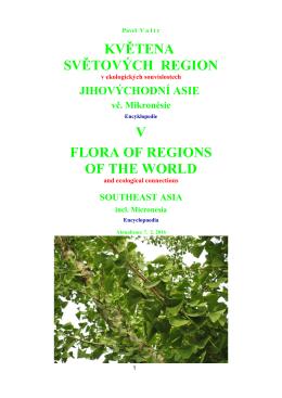 V. Jihovýchodní Asie